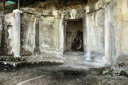 The Illyrian tombs of Selca e Poshtme near Pogradec