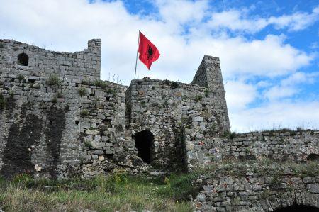 Die Burgruine Rozafa - sagenumwobenes Bollwerk bei Shkodra