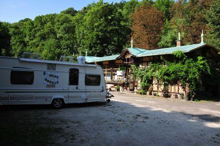 Station 41. Zugligeti Niche Kemping near Budapest