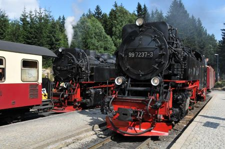 From Friesland crossing the Harz Mountains to Halle – Saale