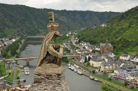 The Mosel - a paradise for campers, cyclists and hikers