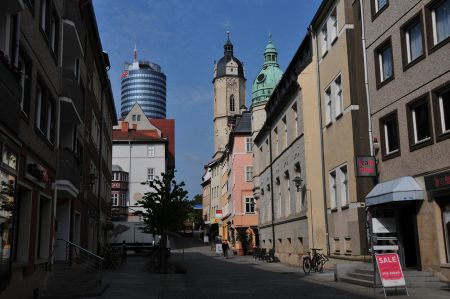 Kirche St. Michael in Jena - Ausstellung Holocaust in Boryslaw