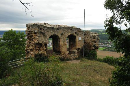 Wanderung zur Ruine der Kunitzburg, besser Burg am Gleißberg