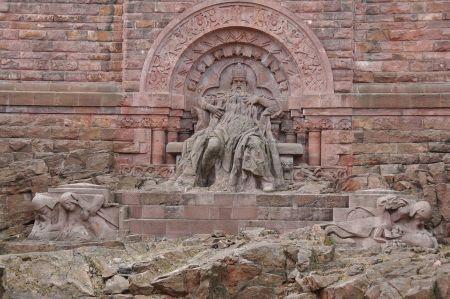 Kyffhäuser Mountain Range and Mythology of Barbarossa