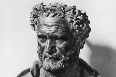 Der Naturphilosoph Demokrit aus Abdera