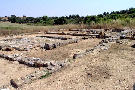 Antike Stadt Abdera