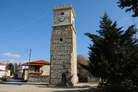 Agkistro - attractive mountain village on the border with Bulgaria