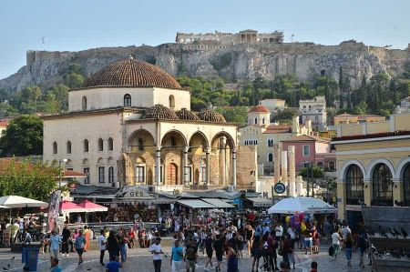 Athens - The history of urban development in Krekopia