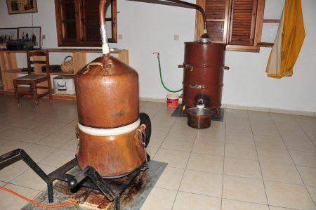 Bourazani - Stopover at Tsipouro Distillation