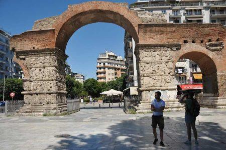 Galeriusbogen - der spätrömische Triumphbogen in Thessaloniki