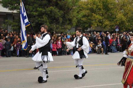 Nationalfeiertag Oxi - Nein in Thessaloniki