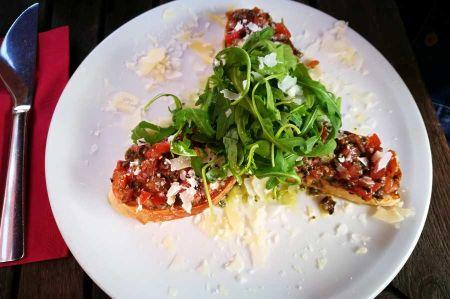 Italian appetizer Bruschetta - far more than just antipasti
