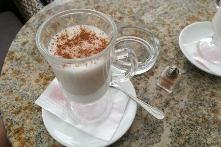 Salep - hot drink from the roots of Orchids