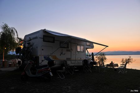 Camping Rino in Kalishta at Lake Ohrid