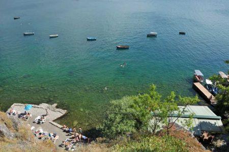 Ohrid - Spaziergang mit Marta und Luis