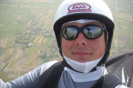 Martin Jovanoski - Wettkampf Paraglider und Testpilot