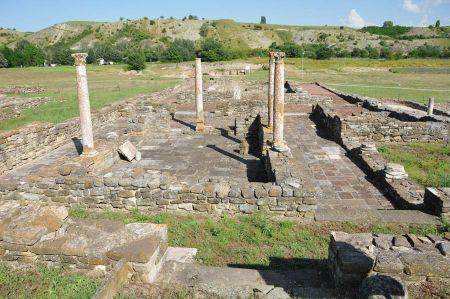 Die Ruinen von Stobi