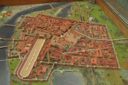 Sirmium - heute Sremska Mitrovica in Serbien