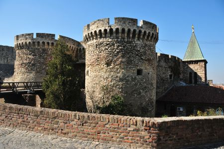 Belgrade - The fortress on the river mouth of Sava - Danube