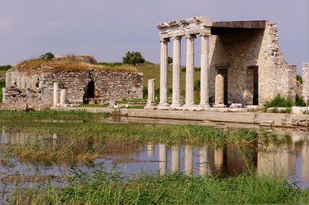 Milet - nahe des Mäander Flusses im antiken Karien