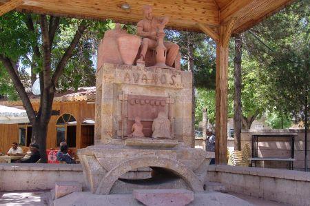 Kapadokya'nın el sanatları ve çömlek merkezi Avanos