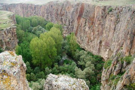 Ihlara Tal und seine Byzantinischen Höhlenkirchen