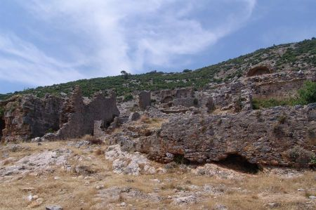 Anamur - die antike Stadt Anamurium in der Provinz Isaura