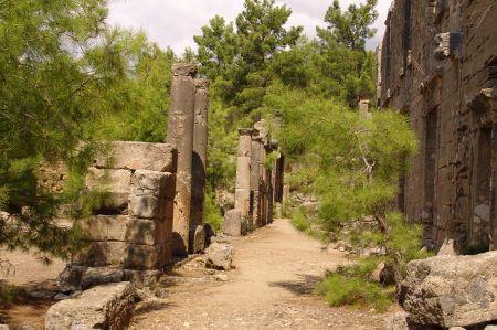 Seleukeia - antike Stadt Lybre