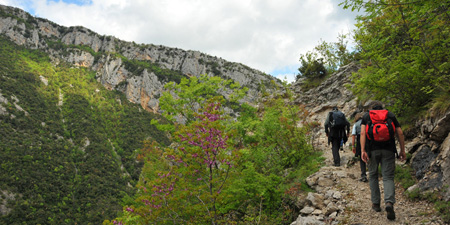 Hike to the Pëllumbas Cave - also called Sphella e Zi