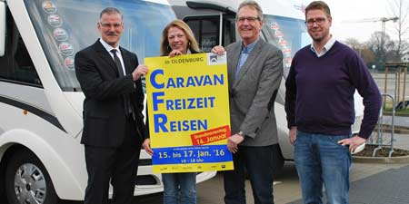 The Exhibtion Caravan Leisure Travel in Oldenburg