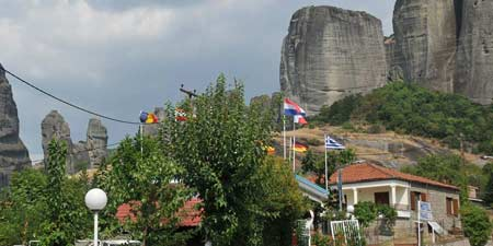 Camping Vrachos in the magnificent area of Meteora