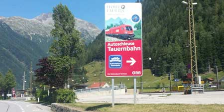 Jam free through the Alps - the Car Lock at Tauern