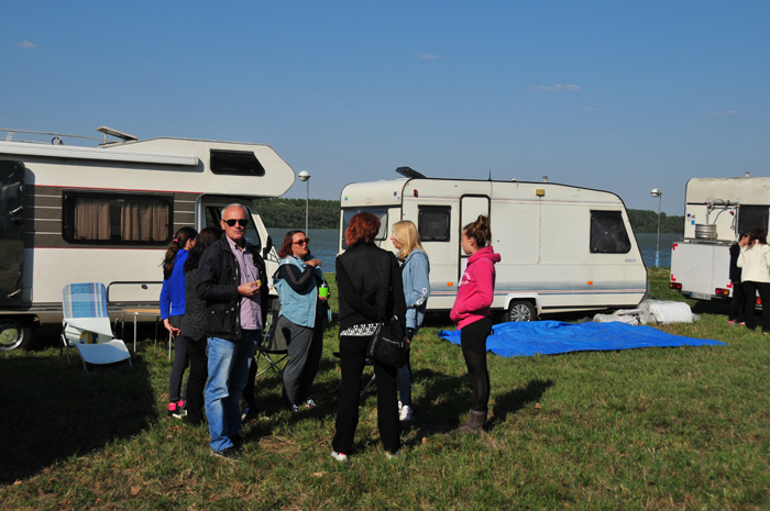 From Belgrade to the Serbian Camperclub meeting at Danube