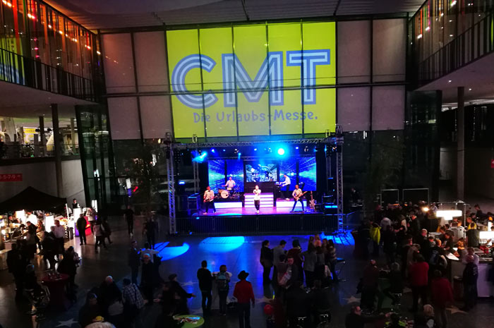 The CMT Stuttgart calls - this time along the coast