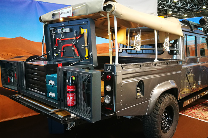 Innovative modular platform concept for pick-up and transporters