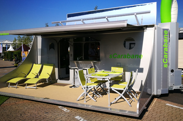 sCarabane - a caravan concept with a variety of really new ideas