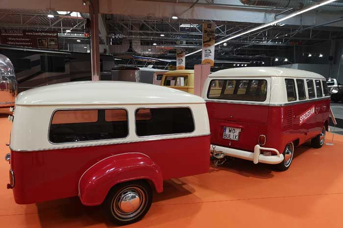 Special models at the Camper Caravan Show in Warsaw