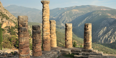 Delphi - the Sanctuary of Apollo