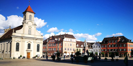 Ludwigsburg - at the drawing board planned and realized city