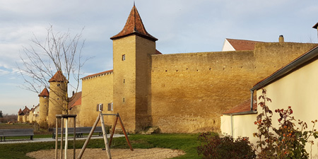 Stopover Mainbernheim - The city fortification