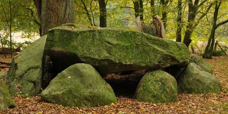 Visbek groom - mighty megalithic grave in Wildeshausen