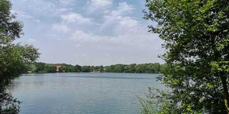 Bulderner See - a former quarry lake as a recreational destination