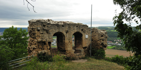 Hike to the ruins of Kunitz Castle, Castle Gleißberg