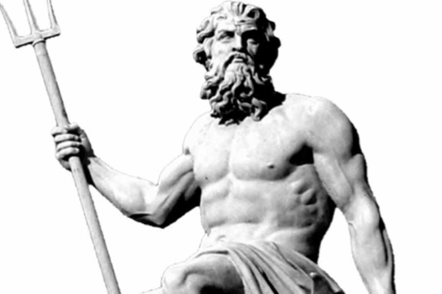 Poseidon Or Neptunus God Of The Sea