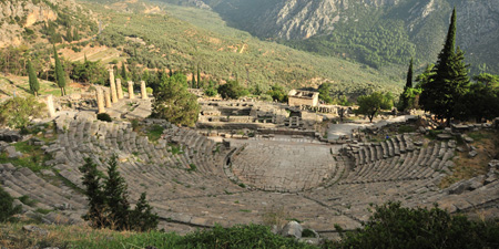 Delphi - From the theater up to the stadium