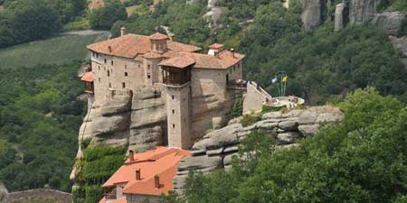 Metéora - Monasteries in the spectacular side of Kalambaka