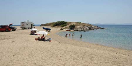 Sithonia - sandy beaches on the second finger of Halkidiki