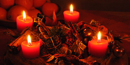 Advent - fasting period or contemplative pre-Christmas time