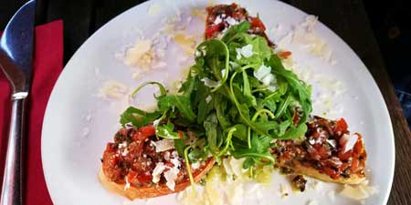 Italian appetizer Bruschetta - far more than just antipasti