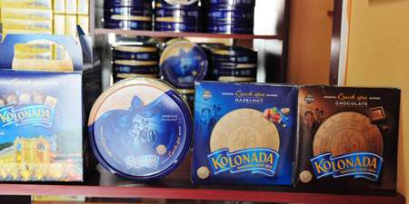 Marienbader in Eger - the best traditional baked wafers